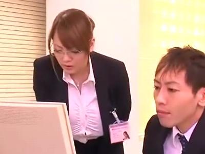 仕事のできる美人上司!超乳Hitomiが部下に仕込まれて性奴隷化