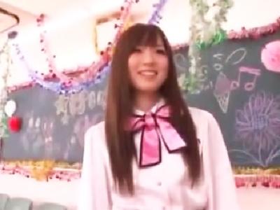学園祭のステージ前のけいおん部美少女の緊張をチンポでほぐしてあげる!