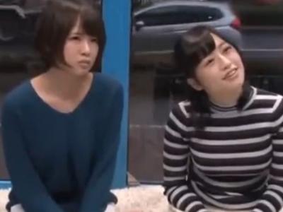 巨乳素人二人組ナンパ→楽しくパイ射乱交展開w