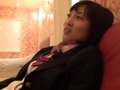 円光慣れしたJKとデート→からのホテルで中出しパコ