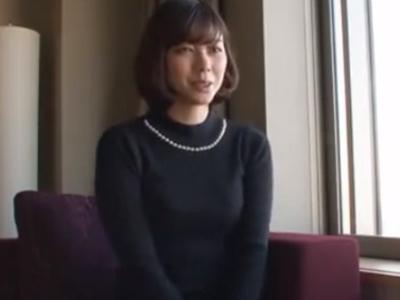 不倫希望の素人妻と白昼ホテルで浮気セックス