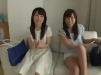 二人組素人娘ナンパ→可愛い子だけ残してパコ!