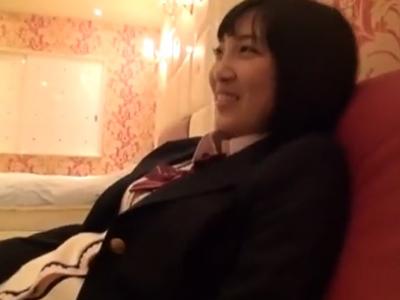 円交JKとデート→ホテルで中出しパココンボ!