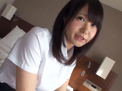 プニロリ顔の素人娘をホテルに連れ込んでガッツリ本気ピスハメ