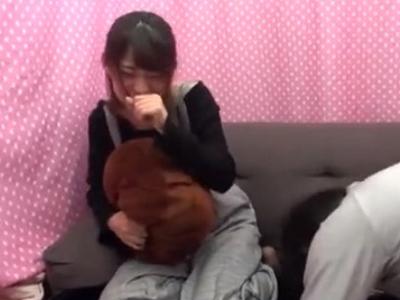 素人娘に巨根露出→パコだけのハズが中出し暴発!