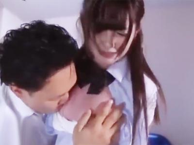 教師の誘いを断った美少女JKが逆恨みされて輪姦レイプ地獄へ突入!