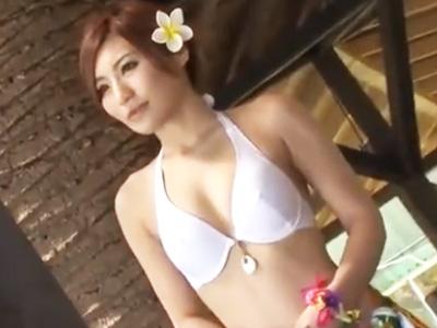 海の家の看板娘をロックオン!人気の無い場所に拉致って徹底的に凌辱した後ザーメン膣に注入してヤリ捨て逃亡w
