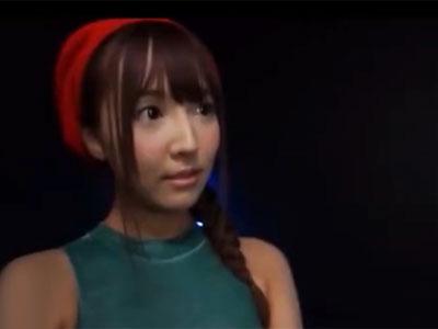 コスプレ姿の三上悠亜ちゃんの締まり抜群の名器マンコを堪能ピス