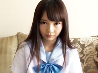 ガリガリのちっぱいロリ美少女JKとホテルで円光ハメ撮り!