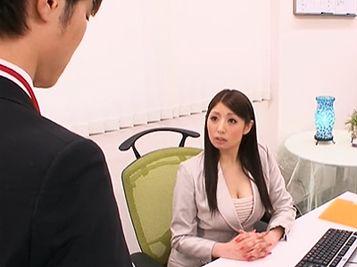 スーツが似合う憧れの先輩と念願のオフィス内パコ