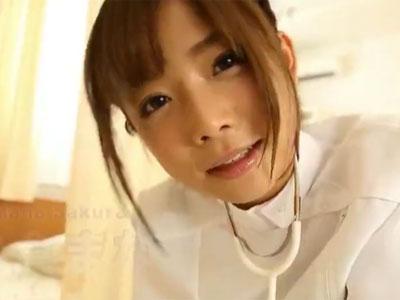 ショトカの美少女が様々な衣装で男根からザーメンを抜き取りプレイ