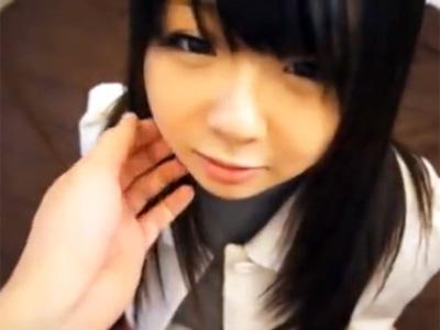 SNSでナンパした爆乳すぎるロリ女子〇生と円光ハメ撮り!