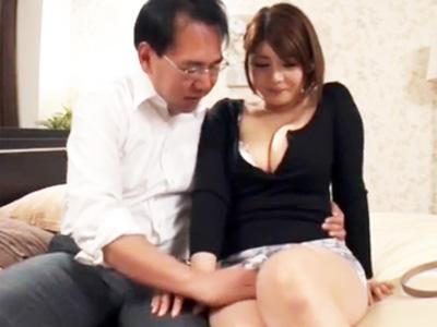 「中はダメですぅ!」爆乳デリ嬢に事故を装い素股から生ハメして無許可中出しw