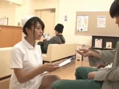 受診に来た患者さんのチンポに食いつき→性欲を満たす淫乱看護師