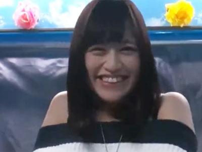 笑顔の可愛い素人娘をお金で釣って鬼責め→そのままハメで大量顔射フィニッシュ