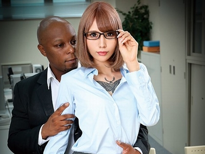 「デカすぎるっ!」黒人投資家に巨根をベンチャーされた経理担当人妻