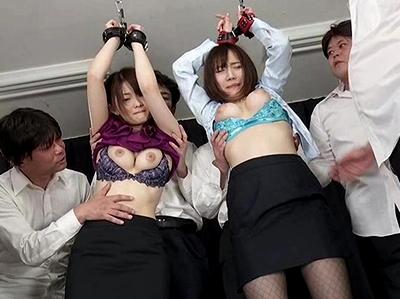 「お願い…もぅヤメて…」自分の教え子たちに性調教される新任女教師