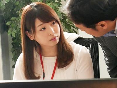 セックスレスに悩める美人若妻OLが上司とオフィスで不貞な関係に‥