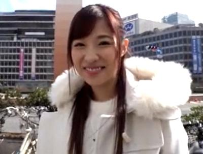 「本当ガチガチ…」栄川乃亜が新宿で逆ナン→凄テクに耐えた猛者が生中出し