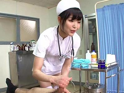 避妊具無し!生中出し治療を行うセックス外来医院の人妻看護師の一日に密着w