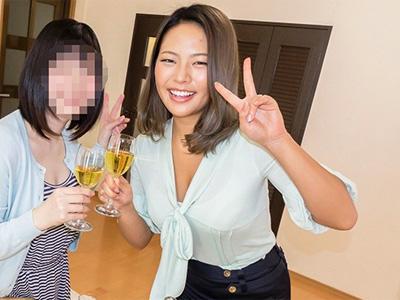 鬼畜な上司達が宅飲みパーティーに参加させた新婚の爆乳妻をレイプ撮影w