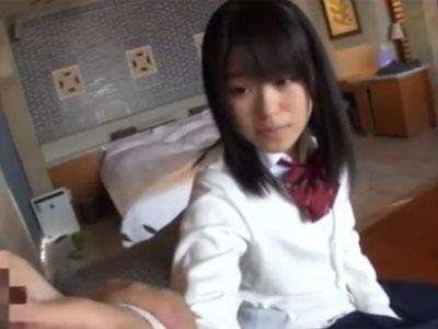 完全アウロリな美少女JKがおっさんチンポでズコピスされてアヘイキ披露