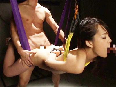 身動き取れない女の口内を徹底的に犯し尽くす極限拷問拘束イラマチオ!