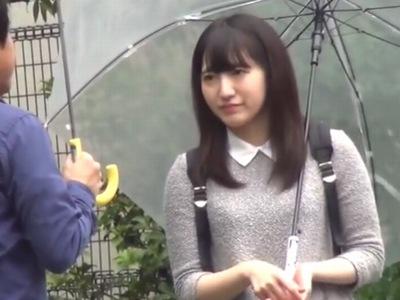 欅坂のような清楚系美少女GET→MM便に乗せて嫌がる絶頂まで激突き上げ!