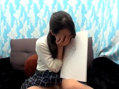 「え~…大きいオチンチンとしてみたいです♥」静岡美人の29歳が突然のデカチンに悶絶