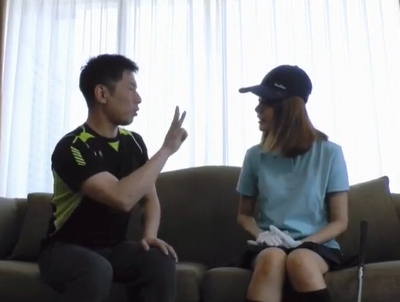 韓国の美人ゴルファーを現地調達!オルチャン美女の腰振り堪能しながら日韓性交