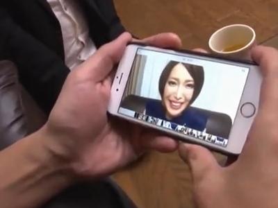 「おっぱいは…Gカップ♡」夫が見せられた妻の寝取られ映像!