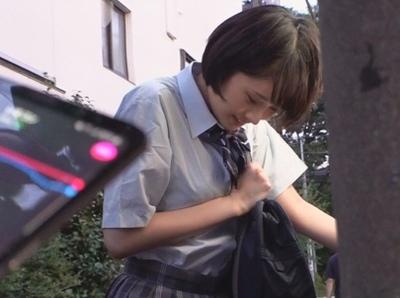 「あ…うそ…何コレ…」学校帰りの美少女JKにローターを仕込んで性の快楽を教える調教パコ