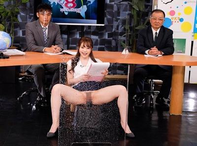 どれだけ潮をふかしても女子アナがしっかりとニュースを読む「トビジオっ!特報NEWS」キタ━(゚∀゚)━!!