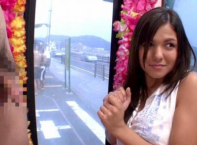 ハワイからの留学生が1本限りのAV出演!まだ日本の事も良く分かってないのに…押しに弱くてw